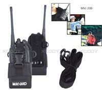 Multifunctions Handsfree Pouch Bag Case For Two Way Radios Baofeng Motorola ect.