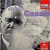 Pablo Casals: Bach/6 Cello Suites CD