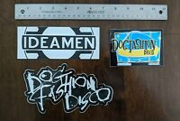 Dog Fashion Disco & Ideamen 3 Sticker Set - FREE SHIPPING! DFD Polkadot Cadaver