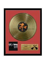 "RGM1007 U2 The Joshua Tree Gold Disc 24K Plated LP 12"""