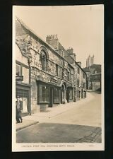 Lincolnshire Lincs LINCOLN Steep Hill RP PPC Cottam Antique Dealers Used 1957