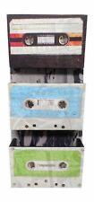 Cassette Tape Bin & Letter Sorter, Wall Decor