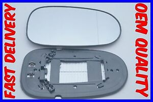 FITS NISSAN ALMERA MK2 2000-2009  MIRROR GLASS WIDE ANGLE ELECTRIC HEATED RIGHT