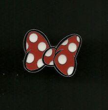 2008 Disney Minnie Mouse Cheerleader Red /& Black Puff Pom Poms Pin