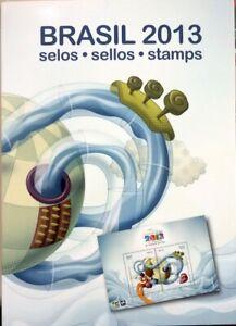 Brazil Stamp Year Pack 2013