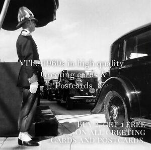 18. Rolls Royce Owners Club 1962. 1960s Quality Greeting Card. Classic Car