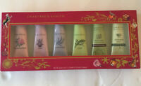 Crabtree And Evelyn Ultra Moisturizing Hand Therapy Cream .9oz 25g Lot Of 5 New