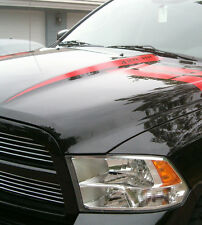 Dodge ram 2009 -2015 hood raise decal / hood spears stripe stripes 3M  USA