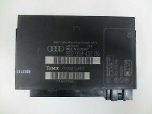 Audi A4 B6 B7 Comfort Control Unit 8E0 959 433 BQ