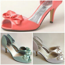 High (3 in. and Up) Special Occasion Open Toe Slim Heels for Women