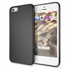 NALIA Handy Hülle für iPhone 5 5S SE, Slim Silikon Case Cover, Schutzhülle Etui