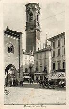 C000595   MONZA  PIAZZA  ROMA  ARENGARIO  ANIMATA  CARROZZA  BAR      VG   1915