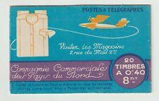 Carnet de 20 timbres YT 193-C 1, Semeuse 40c brun olive neufs