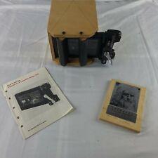 4 x 5 Handmade Leonardo Pinhole Camera  Pinhole Resource signed dated holder too