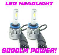 H11 Cob Del Brouillard Ampoules Kit 8000 Lumens 12V 24V Canbus 100W pour Bmw