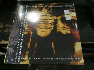 COALTAR OF THE DEEPER Revenge Of The Visitor LP SUMMER DAY Gold VINYL Record NEW