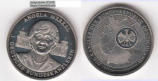 Angela merkel reichstag antes berlín medalla unedel aprox. 30 mm aprox. 12,59 G (t1078)