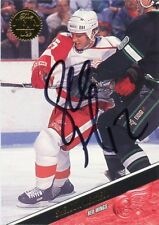 SHELDON KENNEDY RED WINGS AUTOGRAPH AUTO 93-94 LEAF #246 *43917