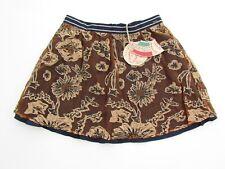 Scotch R'Belle Girls 10 140 EU NWT Brown Ecru Overlay Skirt KK1