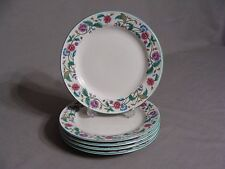 5 Citation Salad Plates In The Castlegarden Collection