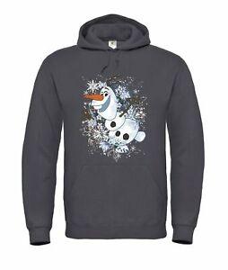Hoodie Unisex - Disney Frozen Olaf Snowflakes
