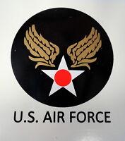 U.S. AIR FORCE P-SERIES HELMET DECAL W/BLACK LETTERING