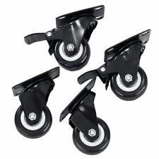 4 X Heavy Duty 50mm Swivel Castor Wheels Trolley Furniture Caster Brake 200kg