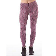 KP85 Space Dyed Leggings Size UK 8 Pink/Black rrp £26.99 DH077 CC 01