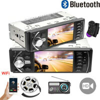 4.1''1 DIN FM Car Radio Touch Screen MP5 Player Bluetooth Screen Stereo USB NEW