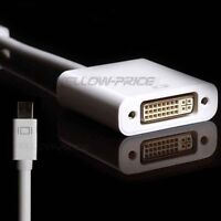 Mini Displayport To HDMI /VGA/DVI Adapter Cable For MacBook/Surface  Pro PC HDTV