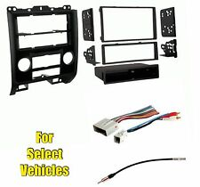 Car Stereo Radio Install Dash Wire Trim Kit Combo for some Mazda/Ford/Mercury