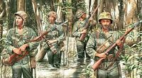MASTERBOX 1:35 SCALE US MARINES IN JUNGLE WWII  MAS3589