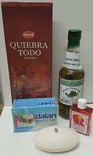 QUITA MALDICION BAÑO KIT COMPLETO NATURAL DESPOJO ROMPE BRUJERIA Y MALA SUERTE !