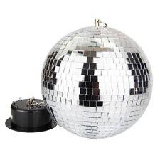 Spiegelkugel, Discokugel 20 cm, Komplett-Set mit Motor, LEDs und Netzteil