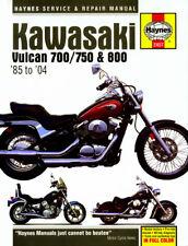 NEW Haynes Workshop Manual For KAWASAKI VN 800 E2 VULCAN DRIFTER 2002