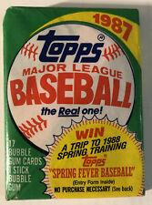 1987 Topps Baseball Complete Set 792 Cards Barry Bonds Bo Jackson RC