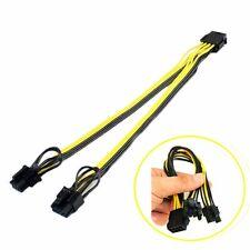 Câble Alimentation Carte Vidéo 8 Pin / PCIe 2x 8 pin (6 + 2 broches) splitter