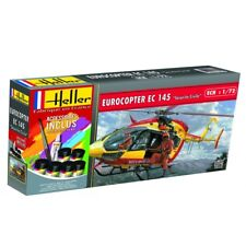 """Heller 1/72 Eurocopter EC 145 """"Securite Civile"""" Gift Set # 56375"""