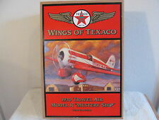 "TEXACO AIRPLANE ""WINGS OF TEXACO"" 1930 TRAVEL AIR MODEL R ""MYSTERY SHIP"" BANK NI"