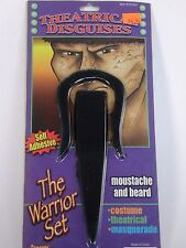 Theatrical Warrior Beard Hair Disguise Stage Costume Halloween Accessory Forum