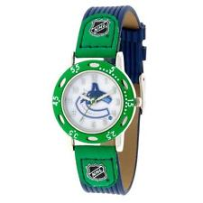 NHL Vancouver Canucks Watch Youth Boys Blue & Green Apparel Accessory