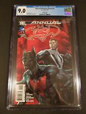 Superman/Batman Annual # 4, 2nd Printing CGC 9.0, WP! RARE!!! (DC 2010)