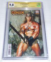 Conan the Barbarian #1 CGC SS 9.8 Signature Autograph ARNOLD SCHWARZENEGGER Book