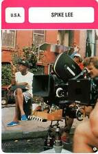 FICHE CINEMA :  SPIKE LEE -  USA (Biographie/Filmographie)