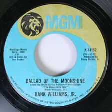 Country 45 Hank Williams, Jr. - Ballad Of The Moonshine / All For The Love Of Su