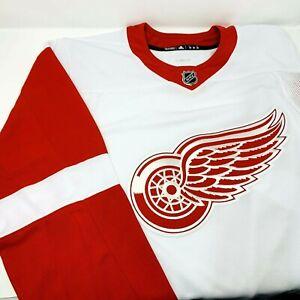 Adidas NHL Detroit Red Wings Authentic Jersey 252JA Ice hockey team Men Sizes