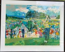 """PRINT ONLY """"April at Augusta"""" LeRoy Neiman L/E Signed Serigraph #215/550"""