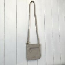 RADLEY Small Cream 100% Leather Shoulder Crossbody Bag Handbag - VGC