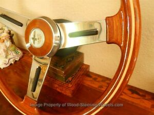 Alfa Romeo 105 115 GT GTV Junior Wood Steering Wheel NARDI PERSONAL 1960's NOS