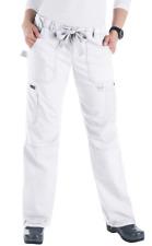 NWT Koi Lindsey Drawstring Waist Scrub Pant 701-01 Size XL White